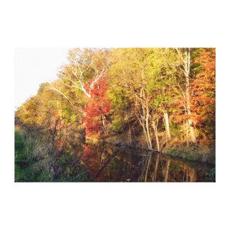 Impresión de la lona de la gloria del otoño del To Impresiones De Lienzo