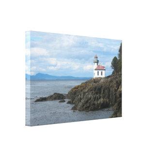 Impresión de la lona de la isla de San Juan del fa Impresion De Lienzo