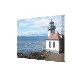 Impresión de la lona de la isla de San Juan del fa Impresion En Lona