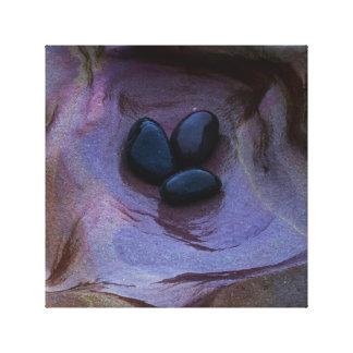 Impresión de la lona de la piscina de la roca impresiones en lienzo estiradas