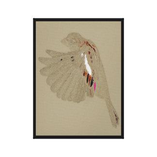 Impresión de la lona de la serie 1 del gorrión impresión en lienzo estirada
