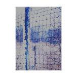 Impresión de la lona de la tormenta de hielo lienzo envuelto para galerias