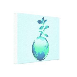 Impresión de la lona de la vida vegetal impresión en lona