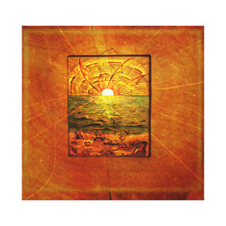 Impresión de la lona de las ilustraciones de impresiones de lienzo