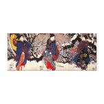 Impresión de la lona de las mujeres de Kuniyoshi t Lona Estirada Galerías