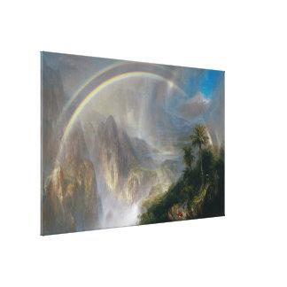 """Impresión de la lona de las """"zonas tropicales"""" de  lona envuelta para galerías"""