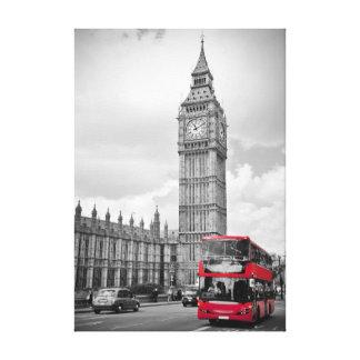 Impresión de la lona de Londres Impresion En Lona