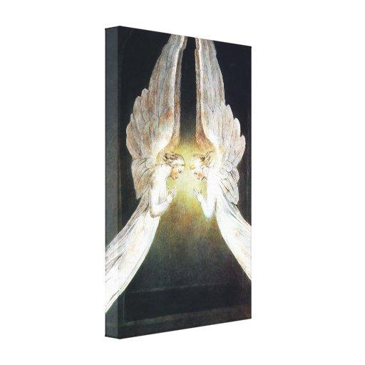 Impresión de la lona de los ángeles de Guillermo B Impresion De Lienzo