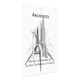 Impresión de la lona de los arquitectos impresión en lona estirada