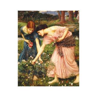 Impresión de la lona de los capullos de rosa de YE Impresiones En Lona Estiradas