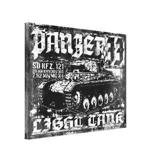 Impresión de la lona de Panzer II