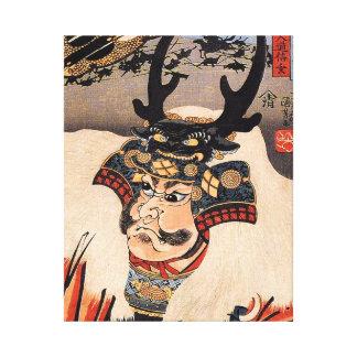 Impresión de la lona de Takeda Shingen Lienzo Envuelto Para Galerias