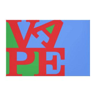 Impresión de la lona de Vape Lona Envuelta Para Galerías