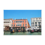 Impresión de la lona de Venecia, Italia Lona Envuelta Para Galerías
