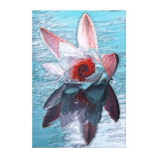 Impresión de la lona de Waterlily Impresiones En Lienzo Estiradas