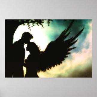 Impresión de la lona del ángel de la divinidad de  posters