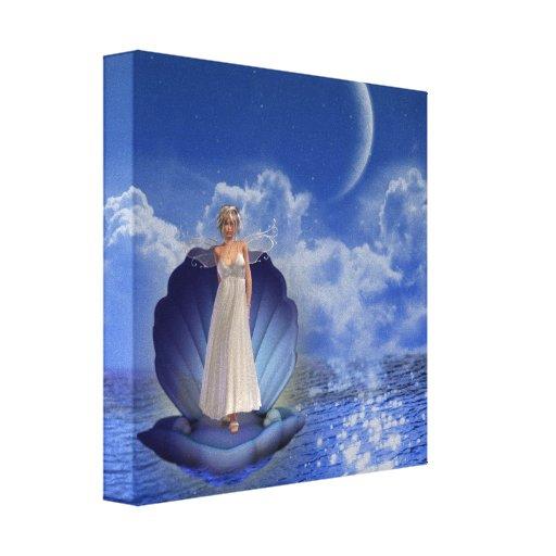 Impresión de la lona del ángel del agua impresiones en lona