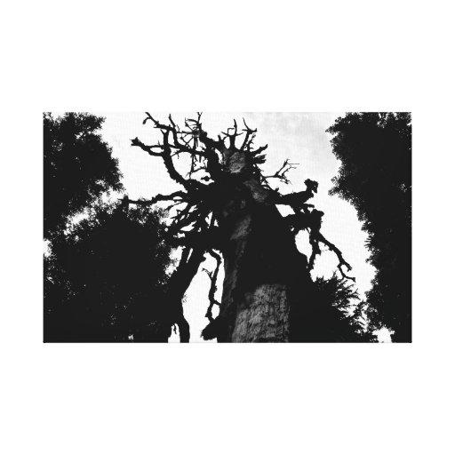 """Impresión de la lona del """"árbol muerto"""" impresiones en lienzo estiradas"""