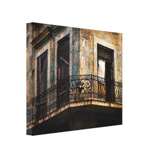 Impresión de la lona del balcón de La Habana Lona Estirada Galerias