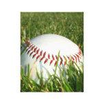Impresión de la lona del béisbol lona estirada galerias