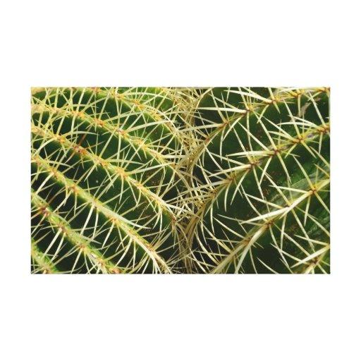 Impresión de la lona del cactus lienzo envuelto para galerías