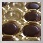 Impresión de la lona del chocolate poster