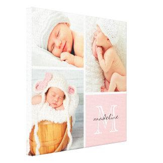 Impresión de la lona del collage de la foto del be lona estirada galerías