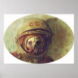 Impresión de la lona del cosmonauta impresiones