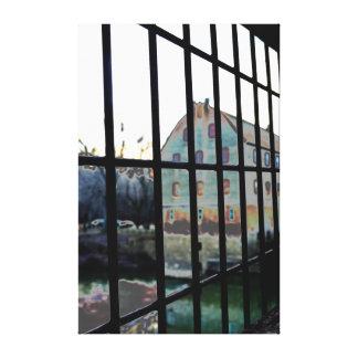 Impresión de la lona del molino de Bollinger Lona Envuelta Para Galerías