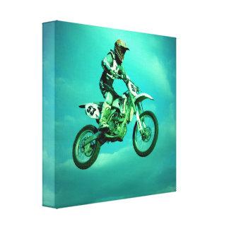 Impresión de la lona del motocrós impresiones en lona
