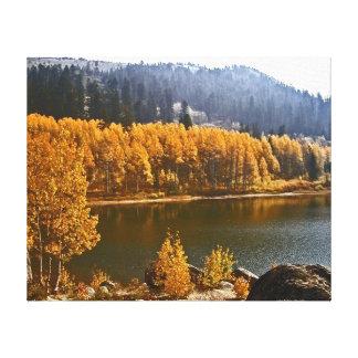 Impresión de la lona del paisaje del lago Tahoe Ne Lona Estirada Galerias