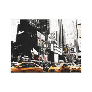 Impresión de la lona del taxi NYC Impresión En Lona Estirada