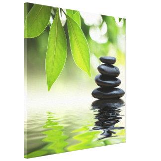 Impresión de la lona del zen impresion de lienzo