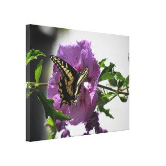 Impresión de la lona - mariposa de Swallowtail