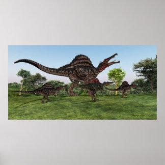 Impresión de la madre de Spinosaurus Impresiones