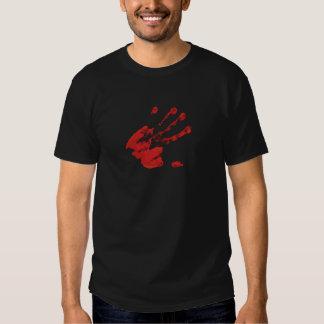 Impresión de la mano - rojo - 3 camisas