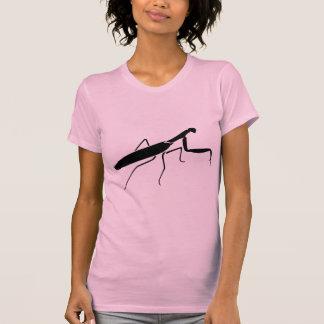 Impresión de la mantis religiosa camiseta