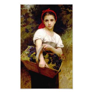 Impresión de la máquina segador de Bouguereau Fotografia