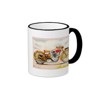 Impresión de la motocicleta del vintage tazas de café