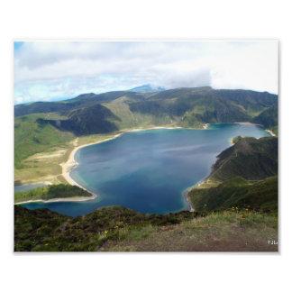 Impresión de la naturaleza de las islas de Azores Fotografías