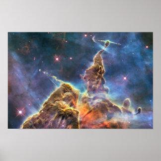 Impresión de la nebulosa de Carina Póster