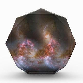 Impresión de la nebulosa de la galaxia