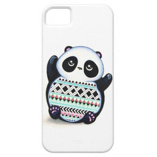 Impresión de la panda iPhone 5 carcasas