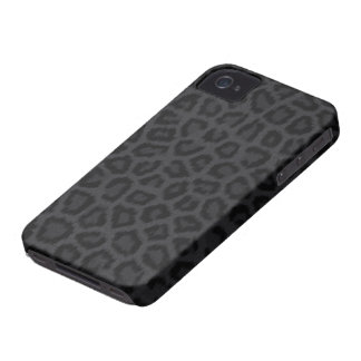 Impresión de la pantera negra iPhone 4 Case-Mate cárcasa