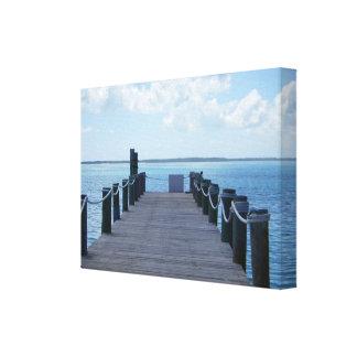 Impresión de la pared de CocoCay Bahamas Impresión En Lona Estirada