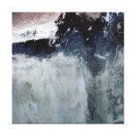 Impresión de la pared del arte del bloque de cemen impresiones en lona estiradas