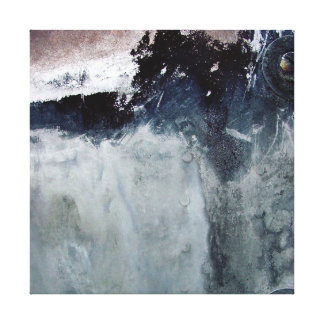 Impresión de la pared del arte del bloque de cemen lienzo envuelto para galerías