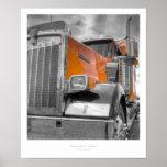 Impresión de la pared del camión impresiones