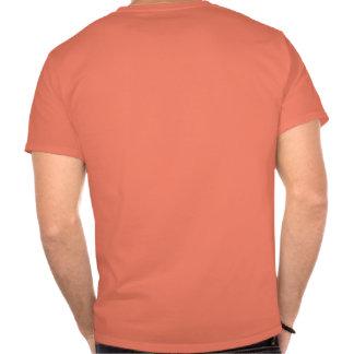 Impresión de la parte posterior de la camiseta:
