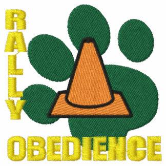 Impresión de la pata de la obediencia de la